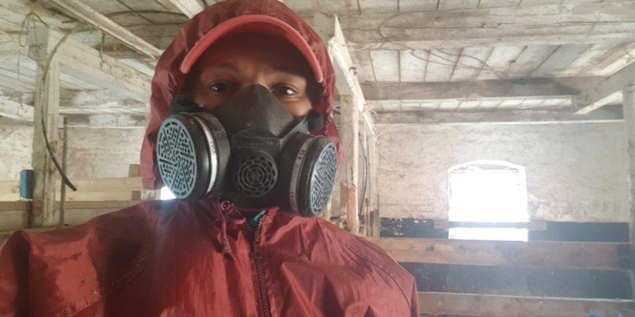 Kelai iförd partikel mask, det är inte allt som är lika kul att andas in