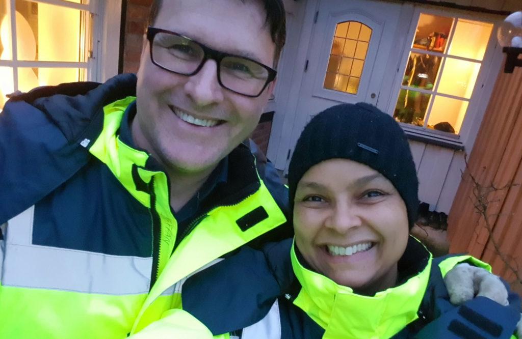 Staffan och Kelai Hjort, ägare av Vita Geten Gårdsmejeri